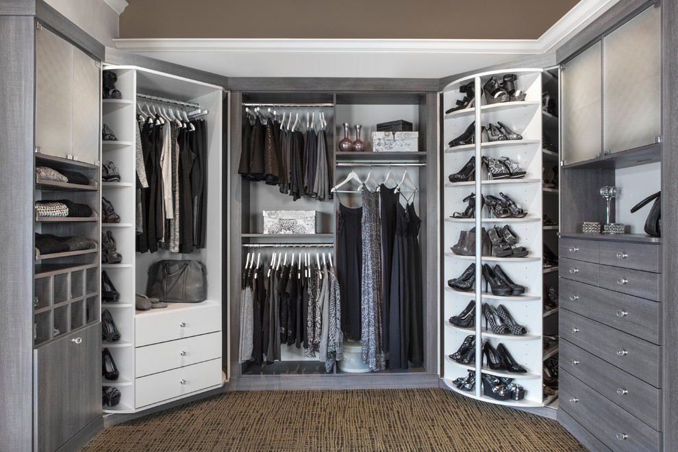 Impressive hanging shoe organizer in Closet Transitional with Shoe Closet next to Cheap Closet Organization Ideas alongside Lazy Susan Corner Cabinets andShoe Rack